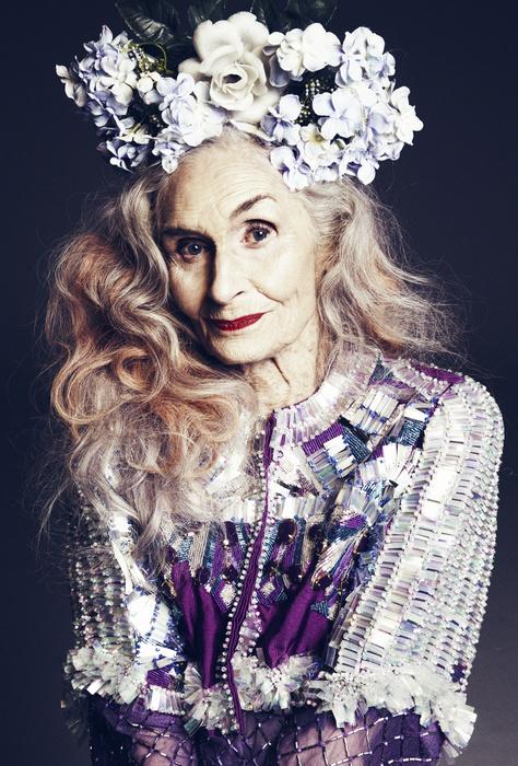 Daphne Selfe, model la 87 ani - Roxanainka (4)