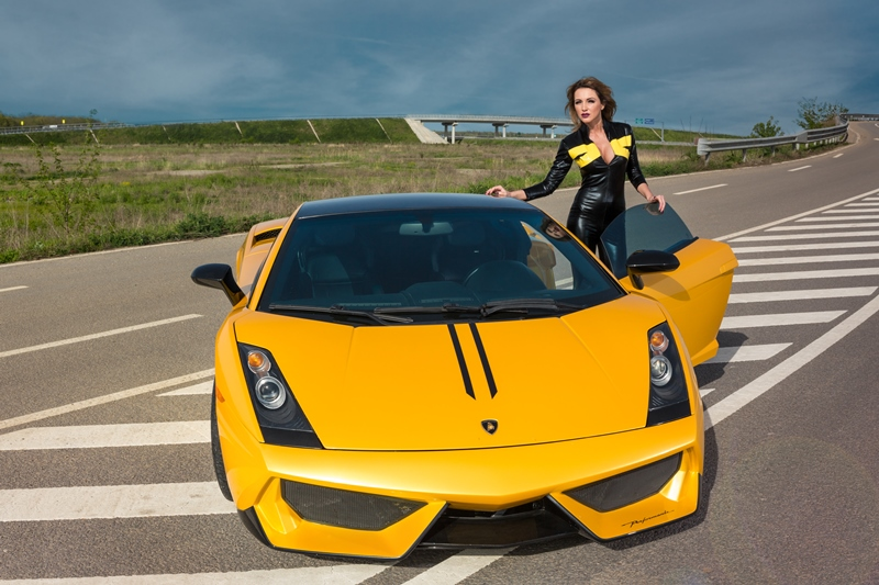 Shh … vine Lamborghini Gallardo roxanainka (3)